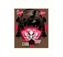 Card Shop Art Print