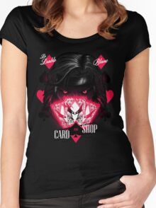 Card Shop Women's Fitted Scoop T-Shirt