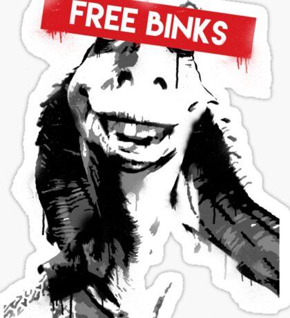 Free Binks Sticker
