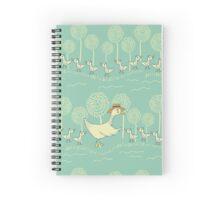 Mama Duck Spiral Notebook