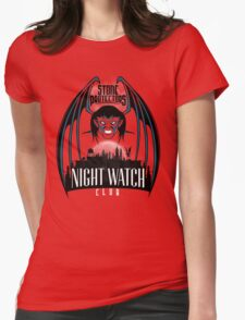 Night Watch Womens Fitted T-Shirt