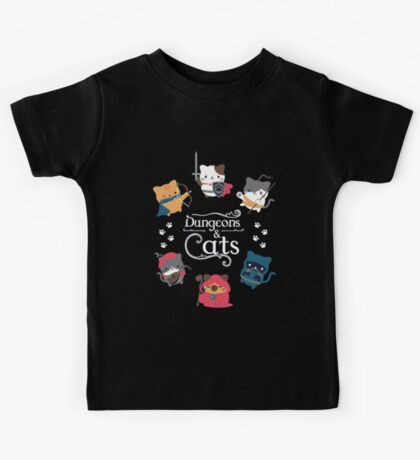 Dungeons & Cats Kids Tee
