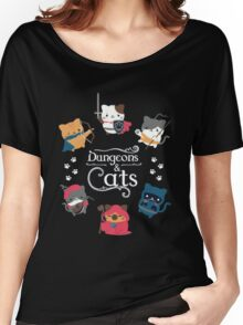 Dungeons & Cats Women's Relaxed Fit T-Shirt