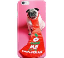 Kiss Me its Christmas iPhone Case/Skin