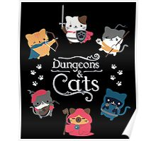 Dungeons & Cats Poster