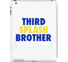 THIRD SPLASH BROTHER iPad Case/Skin