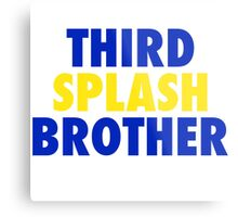 THIRD SPLASH BROTHER Metal Print