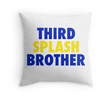 THIRD SPLASH BROTHER Throw Pillow