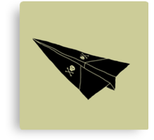Paper Airplane 36 Canvas Print