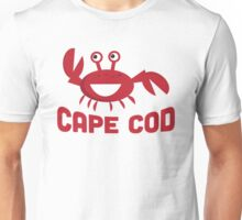 Cape Cod T-shirt - Funny Red Crab Unisex T-Shirt