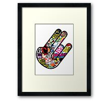 JDM shocker Framed Print