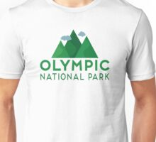 Olympic National Park T-shirt - Mountain Unisex T-Shirt