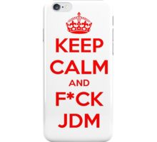 KEEP CALM JDM iPhone Case/Skin