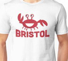 Bristol T-shirt - Funny Red Crab Unisex T-Shirt