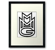 MMG White Framed Print