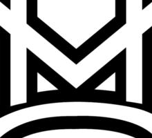 MMG White Sticker