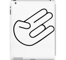 Shocker hand iPad Case/Skin