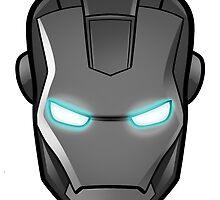 Iron man, grey-scale by Ninjastylie
