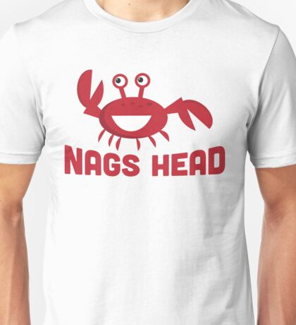 Nags Head T-shirt - Funny Red Crab Unisex T-Shirt