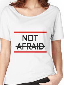 Not Afraid Eminem Women's Relaxed Fit T-Shirt