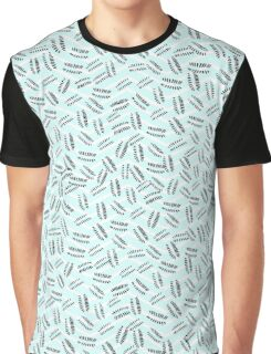 Pattern in nautical baby blue color Graphic T-Shirt