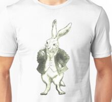Mr. Rabbit and His Golden Watch Unisex T-Shirt