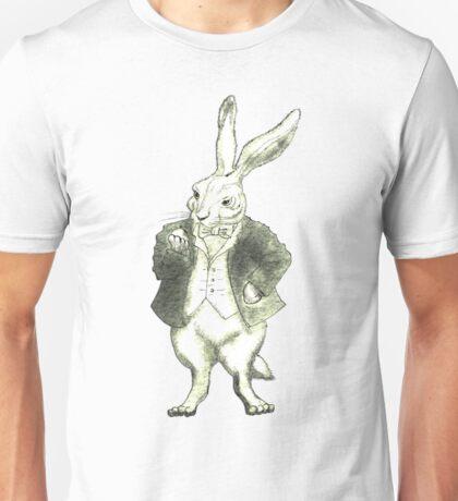 Mr. Rabbit and His Golden Watch Unisex T-Shirt