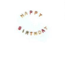 Happy Birthday Alphabet Soup by bluespecsstudio