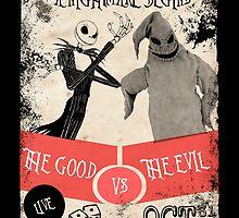 Good vs Evil by AllMadDesigns