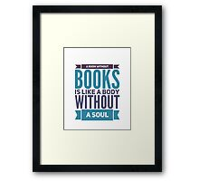 Book Quote Framed Print