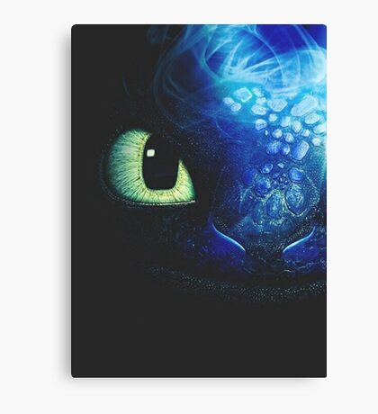 Art Of Dragon trainer Canvas Print