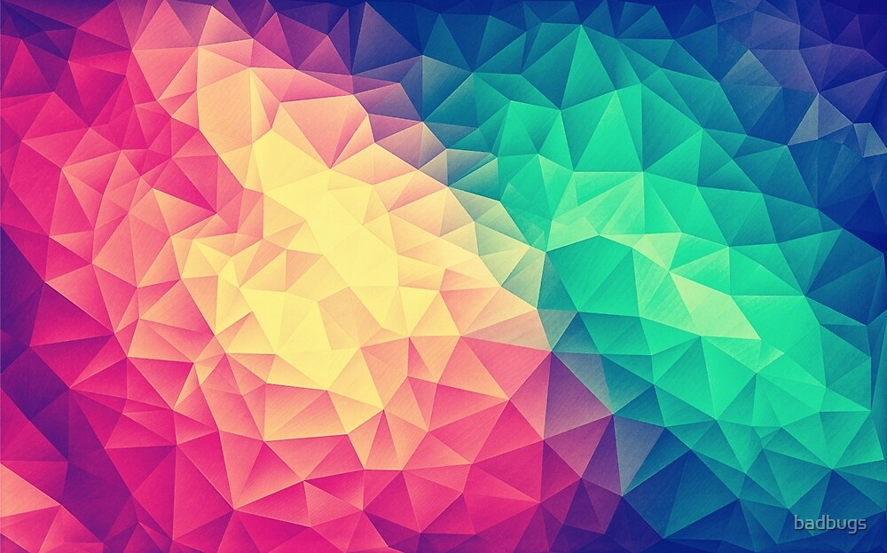 abstract polygonal colorful background - photo #18