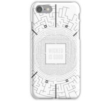 The Maze Runner Layout iPhone Case/Skin