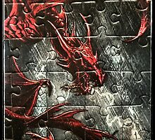 Dragon Puzzle by Kristine Themsen