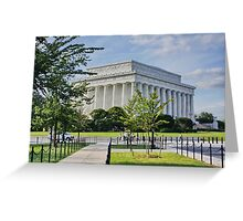 Lincoln Memorial, Washington DC. Greeting Card