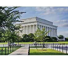 Lincoln Memorial, Washington DC. Photographic Print