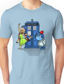 Emotions in a Blue Box Unisex T-Shirt