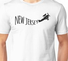 New Jersey T-shirt - Airplane Unisex T-Shirt