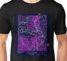 USGS TOPO Map Arkansas AR Newport 260218 1935 62500 Inverted Unisex T-Shirt