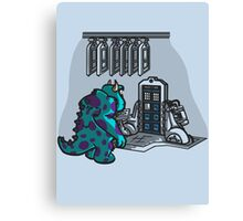 Doctor Sulley Canvas Print