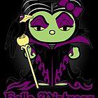 Hello Mistress - Black Sticker, Cards & Prints by SwanStarDesigns