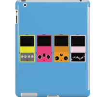 pedal set 2 iPad Case/Skin