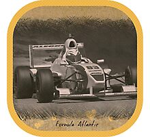 Formula Atlantic Race Car Photographic Print