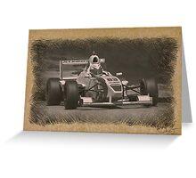 Formula Atlantic Sketch 5 Greeting Card