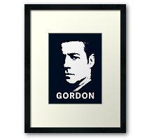 Inspired by Gotham - James Gordon Portrait Framed Print