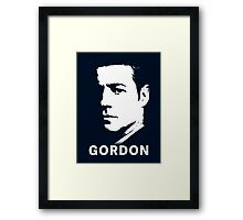 Inspired by Gotham - James Gordon Portrait Framed Print