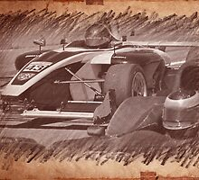 Formula Atlantic Racing Sketch 4 by DaveKoontz