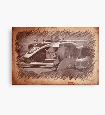 Formula Atlantic Racing Sketch 4 Metal Print