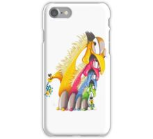 M'ODD'STER 09 - EARLY'BIRD GETS THE MONSTER iPhone Case/Skin