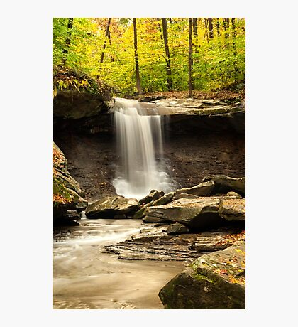 Blue Hen Falls, CVNP, Ohio Photographic Print